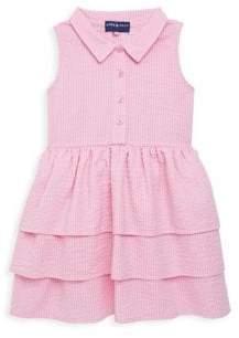 Andy & Evan Little Girl's Seersucker Shirt Dress