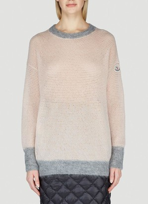 Moncler Open Knit Sweater