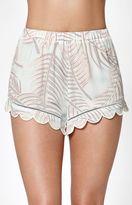 KENDALL + KYLIE Kendall & Kylie Scallop Hem Soft Shorts