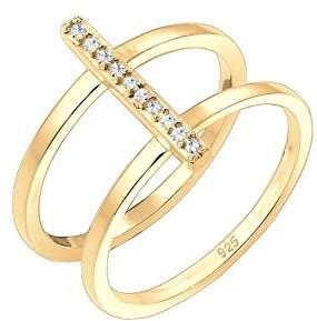 Elli Women's Gold Stacking Ring P 0602940618_56