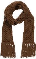 Dolce & Gabbana Wool & Angora Chunky Knit Scarf