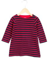 Petit Bateau Girls' Striped Shift Dress