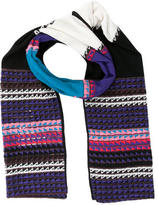 M Missoni Multicolored Wool-Blend Scarf w/ Tags