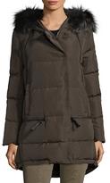 Derek Lam 10 Crosby Zipper Detail Puffer Coat