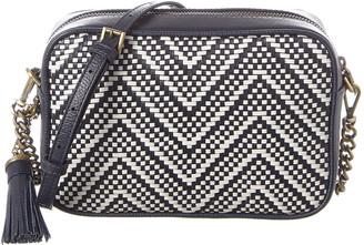 MICHAEL Michael Kors Ginny Medium Leather Camera Bag