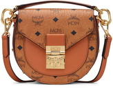 MCM Mini Patricia Visetos Coated Canvas & Leather Shoulder Bag