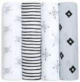 Aden and Anais Mixed Print Swaddles, Pack of 4