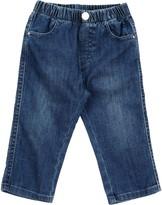 Il Gufo Denim pants - Item 42614171