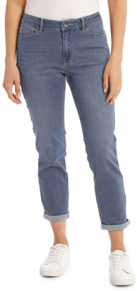 Regatta Essential Denim Crop Jean - Mid Wash Mid