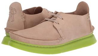 Clarks Seven (White Leather) Men's Shoes