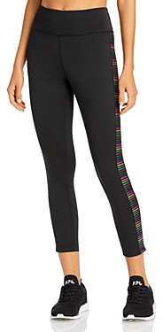 Pam & Gela Rainbow Embroidered Pocket Leggings