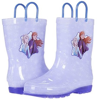 Josmo Kids Frozen Lighted Rain Boots (Toddler/Little Kid) (Lilac) Girl's Shoes