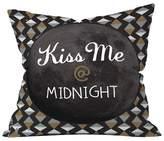 "Deny Designs Satin Slip Kiss Me At Midnight Throw Pillow (20""x20"