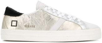 D.A.T.E Hill metallic low-top sneakers