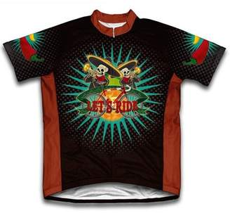 Scudo Mariachi Microfiber Short-Sleeved Cycling Jersey, Assorted Sizes