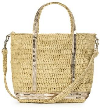 Vanessa Bruno Baby Raffia Cabas Tote Bag