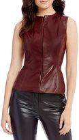 Antonio Melani Alexis Genuine Leather Top