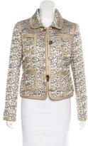 Moschino Metallic Tweed Jacket w/ Tags