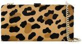 DSQUARED2 leopard print clutch