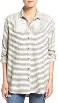 Madewell Women's 'Sunday' Stripe Flannel Shirt