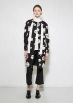 Proenza Schouler Jacquard Cocoon Coat