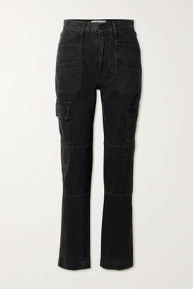 SLVRLAKE Savior High-rise Straight-leg Jeans - Black