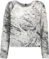 Koral Equate printed cotton-blend jersey sweatshirt