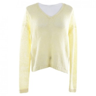 Iris von Arnim Yellow Cotton Knitwear