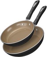 Cuisinart Matte Black Collection 2-pc. Skillet Set