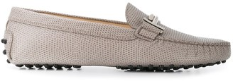 Tod's Gommino T-bar pebbled loafers