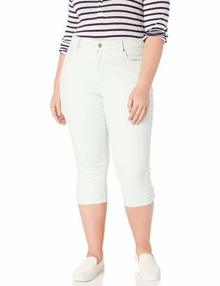 NYDJ Women's Size Plus Marilyn Crop Cuff Jean