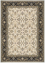 "Kenneth Mink Infinity Persian Ivory/Black 2' x 3'7"" Area Rug"
