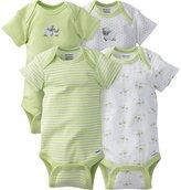 Gerber Unisex-Baby 4 Pack Bodysuit (0-3 Months)
