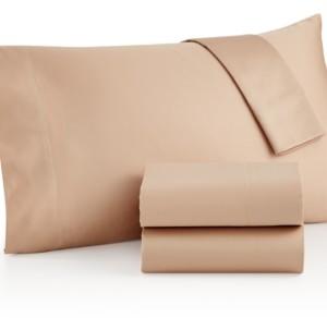 Westport Open Stock Extra Deep Pocket Queen Flat Sheet, 600 Thread Count 100% Cotton Bedding