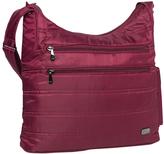 Lug Cranberry Red Cable Car Shoulder Bag