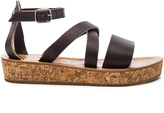 K. Jacques Leather Thoronet Platform Sandals