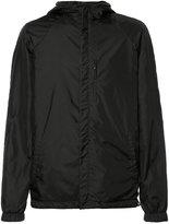 Loewe back print hooded jacket - men - Lamb Skin/Polyamide - 50