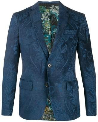 Etro floral embroidered blazer