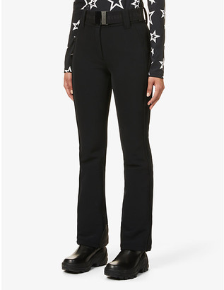 Goldbergh Pippa flared high-rise jersey trousers