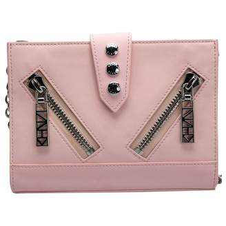Kenzo Kalifornia Pink Leather Clutch bags
