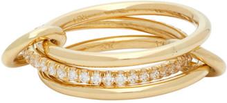 Spinelli Kilcollin Gold Sonny Three-Link Ring
