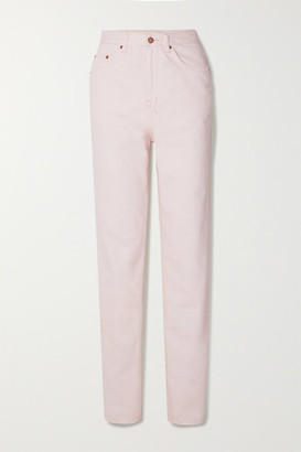 Ksubi Playback High-rise Straight-leg Jeans - Pink