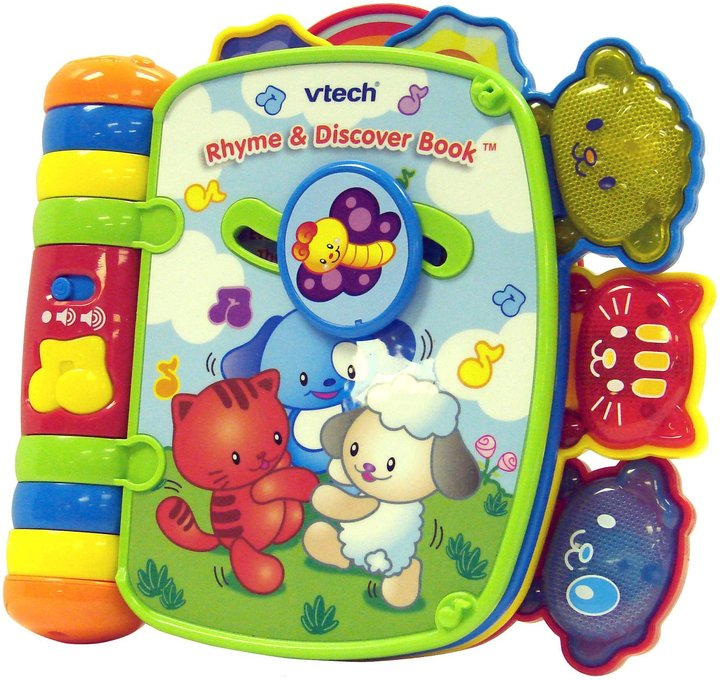 Vtech Rhyme & Discover Book