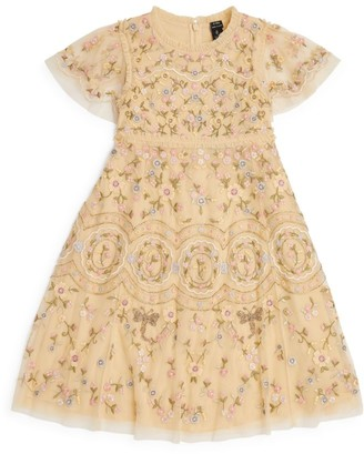 Needle & Thread Sweet Petal Embroidered Dress (4-10 Years)