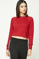 Forever 21 FOREVER 21+ French Terry Knit Pullover