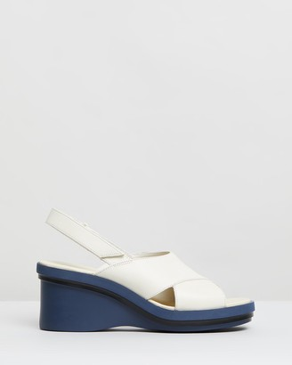 Camper Kyra Slingback Wedge Sandals