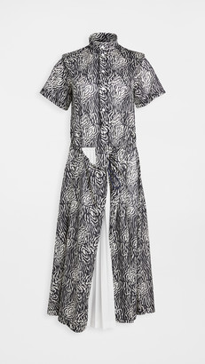 Toga Pulla Print Dress