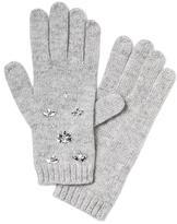 Banana Republic Italian Merino Wool Blend Embellished Glove