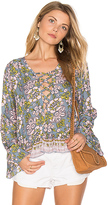 Tiare Hawaii Sunday Lovin Blouse in Green. - size S/M (also in )