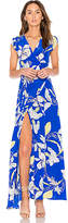 Yumi Kim Swept Away Maxi Dress in Blue. - size L (also in S,XS)